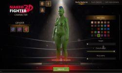 Sam - Naked Fighter 3D - Ver. 0.08 Ultimate - Male protagonist