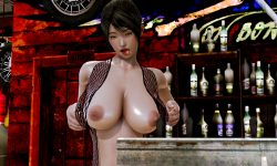 Tekitou - Pregnancy cow daughter - Big breasts