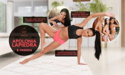 LifeSelector - Lilu Moon,Apolonia Lapiedra - Family Treats - Blowjob