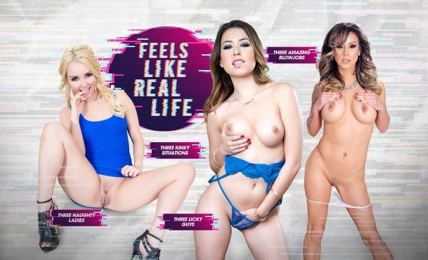 Melissa Moore Porn Star - Lifeselector - Aaliyah Love, Melissa Moore, Nadia Styles - Feels Like Real  Life - POV Porn Games - Lewd Play