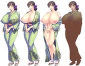 Bakunyuu Okami ~Iyasare Hitozuma Haramase no Yu~ - Milf