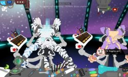 Rack Flash game from Fek - Furry
