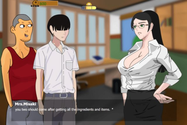 Incest Visual Novel by Tremmi - Mother Seduction Ver. 0.6 - Milf Adult Games - Lewd Play
