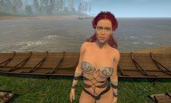 Vikings Daughter from FlyRenders - Big tits