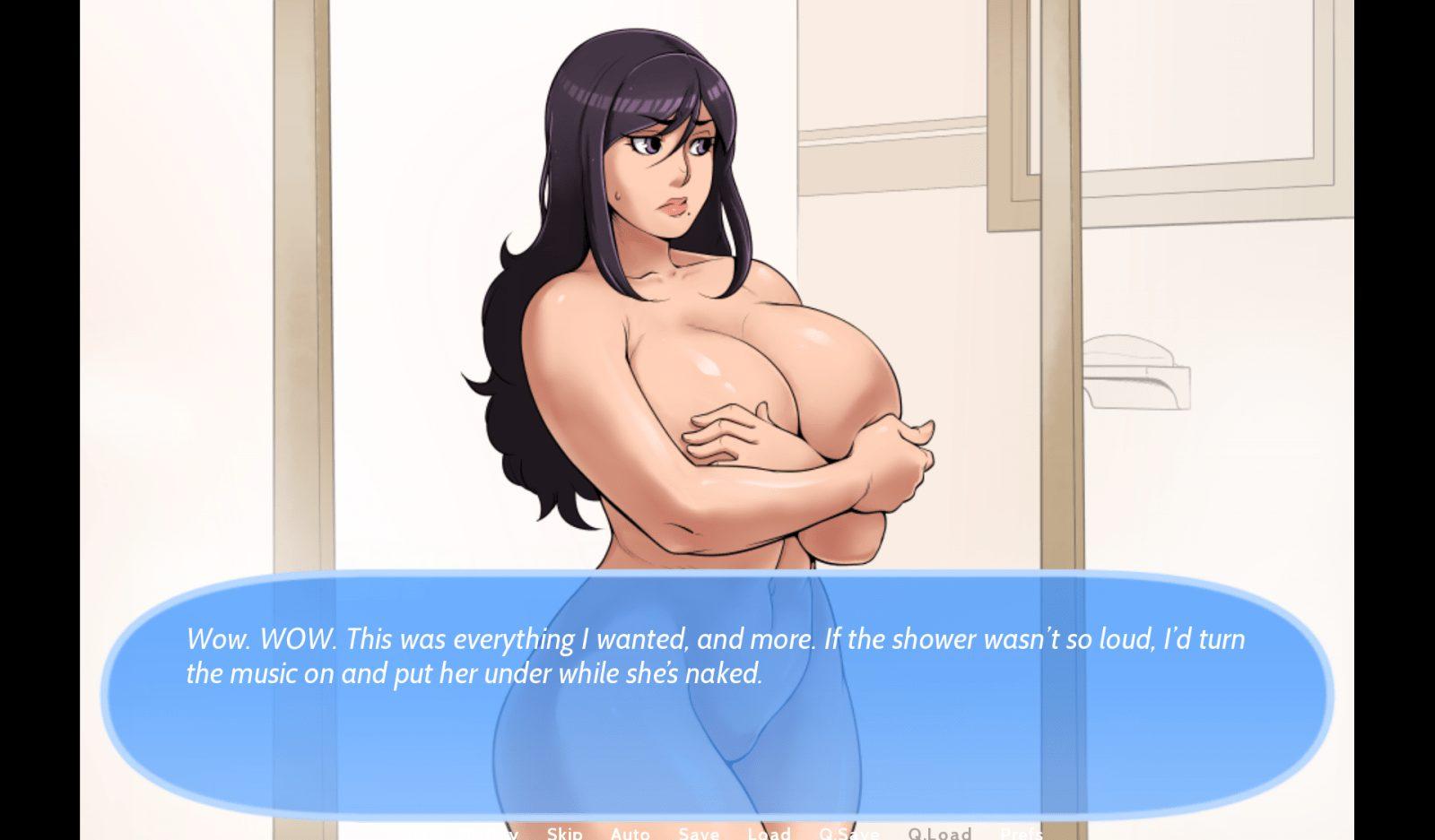 Quick Creampie The Shower