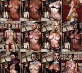 Barbarian Babes - Cowgirls and Vampires - Big breasts