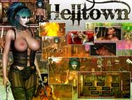 Barbarian Babes - Cowgirls and Vampires - Helltown - Fantasy