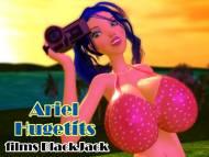 3DGSpot Ariel Hugetits films BlackJack - Big breasts
