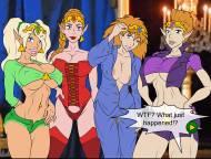 Meet and Fuck Legend of Zelda: Four Sluts - Big breasts